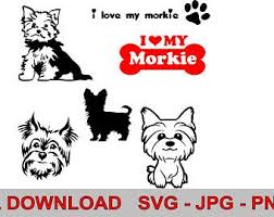 The More I Love My Morkie 4 X6 Dog Sticker Collectibles Decals Stickers Ihslyrics Com