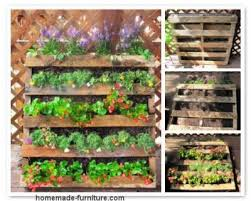vertical garden examples and planters