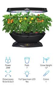 10 Indoor Hydroponic Herb Gardens 2020 Buying Guide Geekwrapped