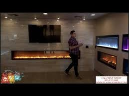 modern flames electric fireplaces line
