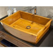 teak wood washbasin sink sinks gallery