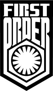 Star Wars First Order Emblem Badge Vinyl Decal Fun Fare Decals