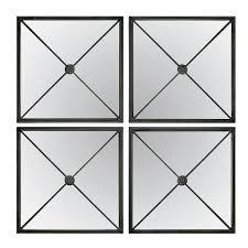 large black framed mirror wayfair