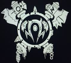 Horde Orc Logo Decal Sticker For The Horde Etsy