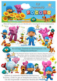 Kit Imprimible Pocoyo