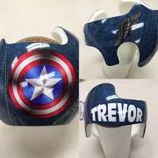 Captain America Baby Helmet Doc Band Wraps Doc Band