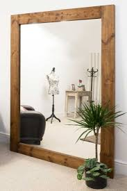solid wood frame large wall mounted