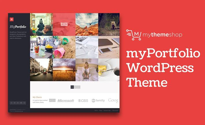 MyThemeShop myPortfolio WordPress Theme