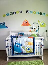 monster inc crib bedding set amazing