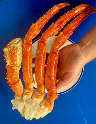 Cooked Norwegian king Crab DEFROSTED ...