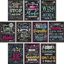 blulu pieces motivational classroom wall posters inspirational