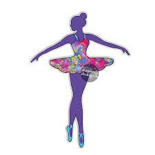 Ballerina Dancer Sticker Car Decal Laptop Decal Ballet Dance Etsy