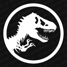 Jurassic Park Emblem Vinyl Decal The Stickermart