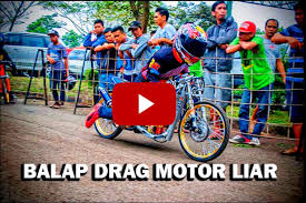 balap liar motor drag race for android