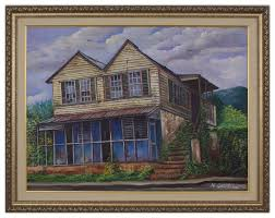 Webster Campbell Jamaica House Painting - Finer Artist