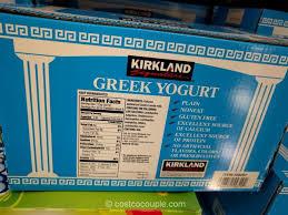 kirkland signature non fat greek yogurt