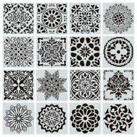 Mandala Stencil Prosperity Mandala Stencil For Furniture Walls Or Floors Ebay