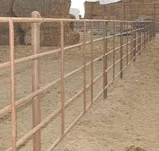 Titan West Continuous Fence Heavy Duty Corral Gates