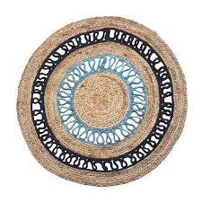 alessia 200cm round indoor outdoor jute rug