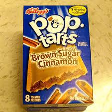 pop tarts brown sugar cinnamon