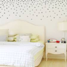 120 Silver Metallic 2 Polka Dot Wall Decals Peel And Stick These Lovely Metallic Gold Dots That Are Removable Gol Polka Dot Walls Polka Dot Wall Decals Room