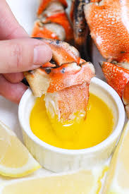 Crab Claws with Lemon Butter Sauce ...