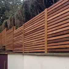 Western Red Cedar Slatted Screen Kits Cedar Fence Fence Design Slatted Fence Panels