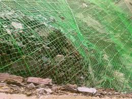 Pvc Coated Wire Rope Net Green And Firm