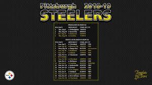2018 2019 pittsburgh steelers wallpaper
