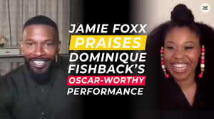 Jamie Foxx, Dominique Fishback chat Project Power! | #FlyInterviews -  YouTube
