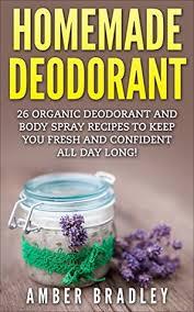 organic deodorant and body spray