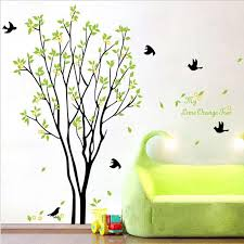 My Lime Orange Tree Wall Art Mural Wall Decal Sticker Green Tree With Fruits Wallpaper Decal Sticker Living Room Bedroom Art Decor Poster Sticker Wall Art Quotes Sticker Wall Decal From Magicforwall
