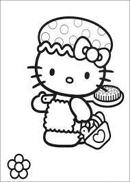 Hello Kitty Kleurplaat Tv Series Kleurplaat Animaatjes Nl In