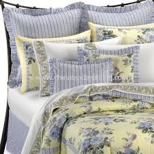 french blue and yellow comforter sets