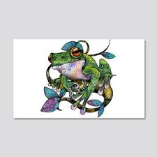 Red Eyed Tree Frog Wall Decals Cafepress