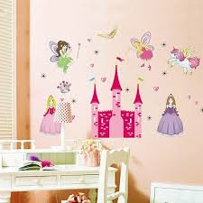 Qoo10 Home Diy Waterproof Removable Fairy Princess Castle Wall Stickers Deca Small Appliances