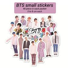 Bts Small Stickers One Stop Merchandise