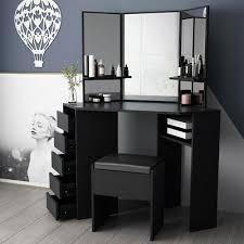 corner dressing table makeup dresser