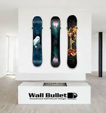 wall bullet snowboard wall mount hanger