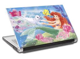 The Little Mermaid Personalized Laptop Skin Vinyl Decal L111 Decalz Co