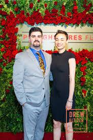 Nima Zarkoub with Adela Jones