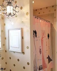 100 Gold Wall Dots Glamorous Gold Polka Dot Wall Stickers