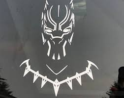 Panther Decal Etsy