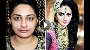 beautiful bridal makeup tutorial before