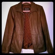 pelle studio jacket brown wilson
