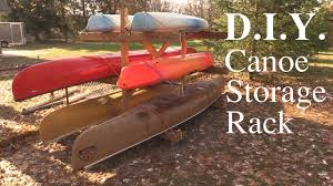 canoe storage rack d i y you