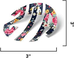 Amazon Com Zeta Tau Alpha Monogram In Floral Sticker 3 Inch Sorority Decal Greek For Window Laptop Computer Car Zeta