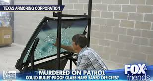 the bulletproof glass that would have