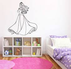 Princess Aurora Wall Decal Sleeping Beauty Wall Decor Etsy In 2020 Wall Decor Stickers Cartoon Wall Wall Decals