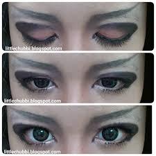 visual kei eye makeup cat eye makeup